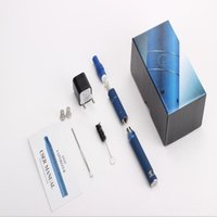 Cheap Electronic Cigarettes Vape Pen Ecig Wax Weed Dry Herb Vaporizer LCD Display with Ago G5 Atomizer G5 starter kits e_cigarette kits DHL free