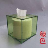 acrylic tissue box - Home acrylic tissue box creative transparent business square tissue box