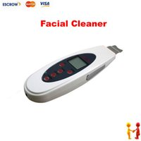 Wholesale LW Portable Digital Facial LCD Ultrasound Facial Cleaner for face cleaning very low noise low power W