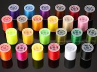 Вязания мушек нить 150 денье выбрать из 24 цветов, 150 Yd катушки приманки материалы