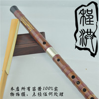 Wholesale B02 Copper joint Handmade Flute Professional concert quality Chinese Bamboo flute Dizi with excellent tone musical instruments
