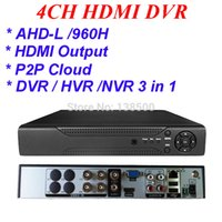 Wholesale HDMI P Outuput CCTV AHD DVR CH Channel Full D1 For Surveillance Security Camera System P2P