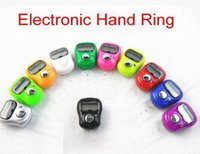 Wholesale Mini Muslim Finger Ring Tally Counter Digital Tasbeeh Tasbih For Golf Temple Assorted Color
