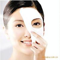 Wholesale 50PCS Hot saleNew Skin Face Care DIY Facial Paper Compress Masque Mask