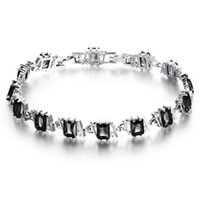 amazon singapore - Amazon selling compact Roman bracelet Ms bracelet DS948 rhodium birthday gift