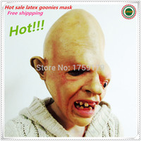 Wholesale Halloween Horrible Adult Face Masks Scary Style Monster Mask Goonies Sloth Mask Adults Masquerade Horror Mask