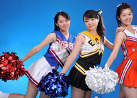 Wholesale Fashion Hot Game pompoms g Cheering pom pom Cheerleading supplies Color can choose