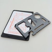 Cheap 11 in 1 Card Tools Credit Card Tool Best about 30g Holster same as pictures show credit card