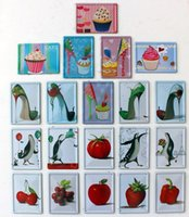 abstract fruit paintings - Fresh fruit decoration wall accessories muons penguin high heeled shoes fashion metal painting