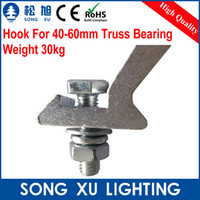 aluminum light truss - PC Aluminum Stage Lamp Hook For mm Truss hook moving head light beam par can par light SX AC016