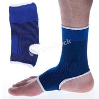 Wholesale Ankle Pad Protection Elastic Brace Guard Support Sports Gym Leg Arthritis Injury Outdoor Factory Free DHL