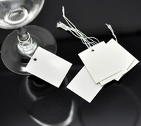 Wholesale 2015 NEW String Jewelry Price Label Paper Pricing Tags cmx3cm quot x1 quot