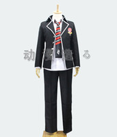 ao cosplay - Ao no Blue Exorcist Rin Okumura True Cross Academy Okumura Rin Cosplay Costume H005