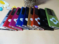 Wholesale 8GB th MP4 Music Player Plum Flower Cross Button Mp3 Player FM Radio VIDEO Ebook full set Christmas Gift DY