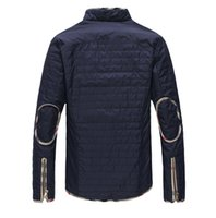 access mix - Fall men s jacket pocket decoration access British fashion mixed colors casual jacket new blue xl xl xl l50