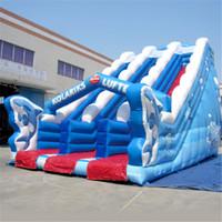 backyard ocean - AOQI ocean inflatable slide novel design slide beautifull inflatable slide for children made in professional manufacturer AOQI