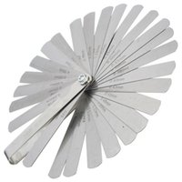 Wholesale High quality Tappet valve feller Feeler Gauge set Blades Metric inch thickness gage set