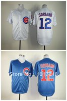 alfonso soriano - 30 Teams New Good Quality Hot Sale Men s Baseball Jerseys Chicago Cubs Alfonso Soriano Jersey Embroidery Logos