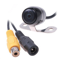 Wholesale Car Rear View Reverse Backup Waterproof CMOS Camera support NTSC system drop shpping M4173