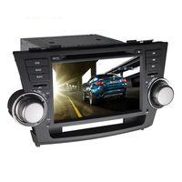 dual cd player - Android Car DVD player Sat Navi Headunit For Toyota Highlander DVD Player Radio GPS Bluetooth G CPU Dual Core