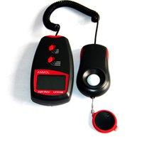 Wholesale 2016 Hot Multifunctional Digital Light Lux Meter Analyzer Detector Tester Illuminance Measurement Photometer Luxmeter Light Illuminometer
