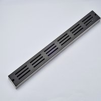 Wholesale And Retail Luxury Oil Rubbed Bronze Bathroom Shower Floor Drainer Grate Waste Floor Filler Stainless Steel