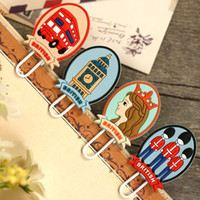 Wholesale 10sets set bookmarks Cute England Royal Clip Bookmarks TL