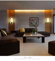 balcony ideas - LED wall lamp wrought iron wall lamp contemporary and contracted sitting room corridor of bedroom the head of a bed idea balcony lamp