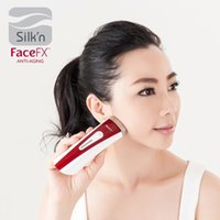 acne light box - 2015 New Silk n FaceFX skin Face fx Renewal Anti Aging LED Handheld Facial Device with box packaging
