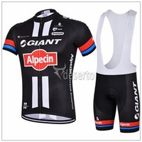 cycle - Giant Style Cycling Jersey Set Short Sleeve Padded Trousers Men Summer Cycling Clothes Black And Red Top Class Lycra Cycling Kit