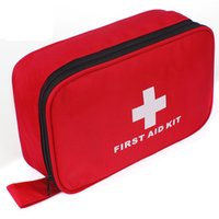 Wholesale 87pcs pack Safe Bag Emergency First Aid Kit Medical Outdoor Camping Survival Kits Professional Medical Urgent Package FAK A08