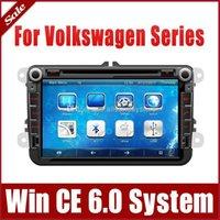 "Cheap 8"" 2-Din Car DVD Player for VW Volkswagen T5 Transporter Amarok Sagitar w  GPS Navigation Navigator Radio Bluetooth TV USB SD AUX Map"