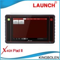auto engine - 2016 New Arriver Launch X431 Pad II Universal Auto Diagnostic Scanner Launch x PAD2 G WIFI supported Online Update DHL