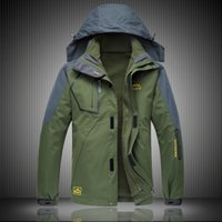 big mens ski jackets - winter sports ski hiking jacket mens outdoor waterproof sportswear men double piece thicked coat big L XL XL XL XL AG81