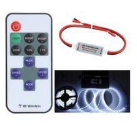 Wholesale 5 V Keys Wireless RGB LED RF Remote Controller Mini Controller Dimmer for Single Color LED Strip