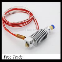 Wholesale FreeShipping Long distance D Printer J head Hotend for mm mm filament D Bowden Extruder mm0 mm0 mm Nozzle Optional