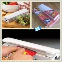 fresh food - Food Bag Reseal Save Fresh Heat Sealing Sealer Vacuum Sealer Kitchen Waste Reduction Gadget Portable