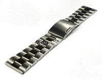 Wholesale mm Buckle mm New High Quality Pure Solid Stainless Steel Watch Bands Strap Bracelets S3