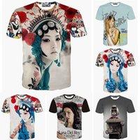 beauty drama - 2015 new short sleeve T shirt Drama beauty Rihanna Lana del rey D design print men women t shirt fashion summer tee tshirt FG1510