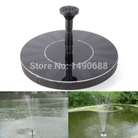 Wholesale 2014 New High Quality V Floating Water Pump Solar Panel Garden Plants Watering Power Fountain Pool