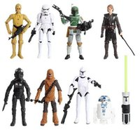 Wholesale Star Wars Designs Action Figures Star Wars Figures Star Wars White Soliders Dolls PVC Action Figures Collectible Model Toask