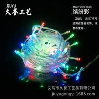 Candle Lights C7 Bulbs 10M Christmas tree lighting project for a long reputation technology LED string lighting accessories hotel arranged props Christmas shopping