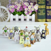 Wholesale ZAKKA special mini resin animal figurines natrue series Super variety of jewelry to the sky gifts