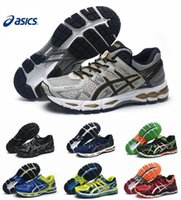 asics gel shoes - New Style Asics Gel Kayano T4H2N Running Shoes For Men High Buffer Lightweight Breathable Athletic Sport Sneakers Eur