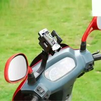 motorcycle frame - Universal phone holder mounting bracket motorcycle seat frame bracket iPhone5S Samsung HTC LG of all mobile phone PDA GPS MP4