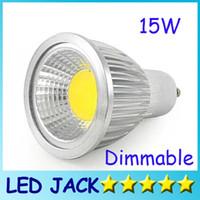 Wholesale Dimmable Led COB Lamp PAR16 W E27 GU10 E14 GU5 V MR16 V Led Light Spotlight led bulb downlight lighting bulbs