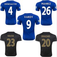 thailand football jerseys - Thailand Quality Season Leicester City Home Away Soccer Uniform Football Jerseys DRINKWATER ULLOA DYER MAHREZ VARDY