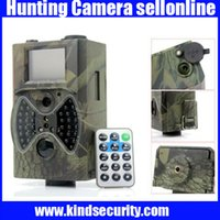 Wholesale NEW Infrared Hunting Camera HC300 IR Trail Camera with LED Wild life Digital Infrared Trail Camera free ship