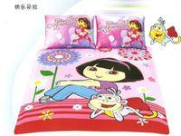 ballet duvet covers - Dora s ballet adventures comforter bedding bed linen set for little girl single twin double beds duvet cover sheet pillowcase