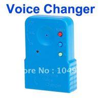 Teléfono Teléfono celular de voz Sound cambiador dispositivo que envía micrófono Sound Disguiser gota Envío Gratis